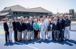 Tennis Hall of Fame Courts