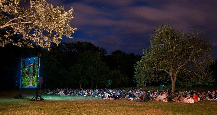Movies on the rocks ballard park