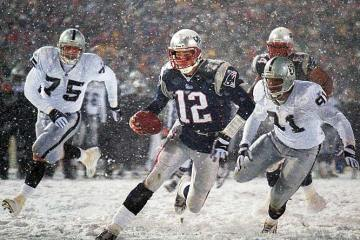 Snow bowl tuck rule patriots
