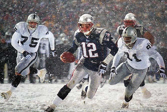 Snow bowl tuck rule patriots
