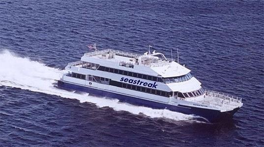 seastreak Newport Providence ferry