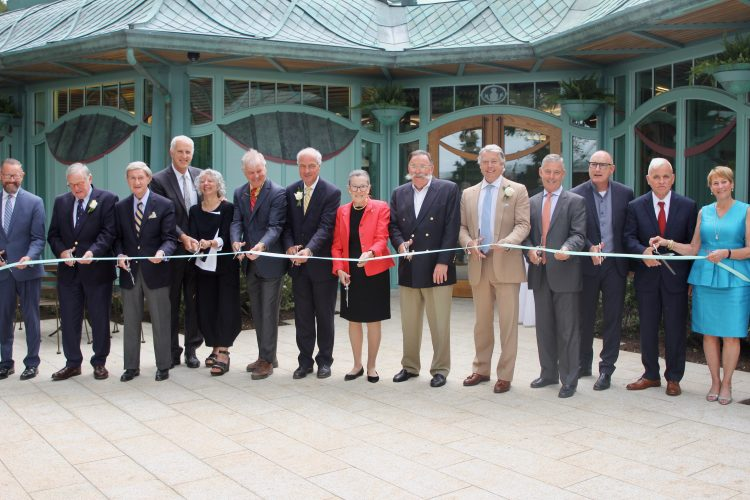 Ribbon Cutting Breakers Welcome Center