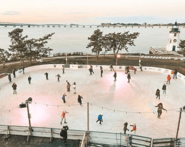 Gurney's Newport Ice Skating Rink