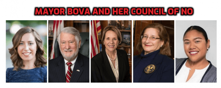 Mayor Bova Council of NO