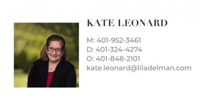 Kate Leonard Newport RI