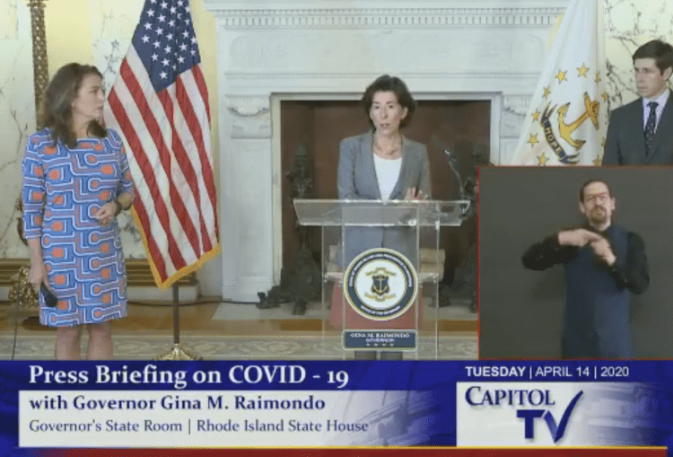 Governor Raimondo Christian Winthrop