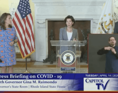 Governor Raimondo Christian Winthrop