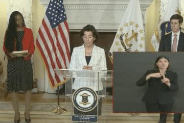 Governor raimondo COVID update