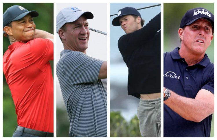 Tiger Peyton Brady Phil Golf