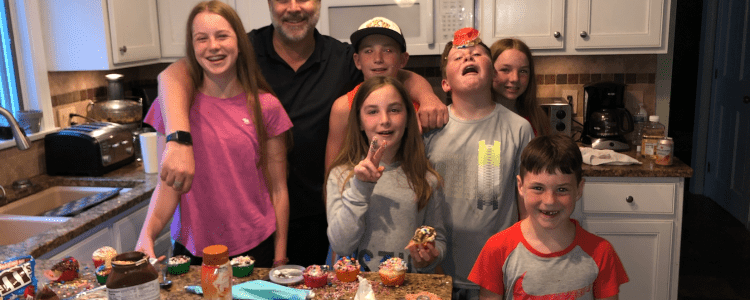 COVID Cooking Christian Winthrop Cupcake Challenge