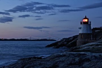 Castle Hill Light Newport RI Christian Winthrop