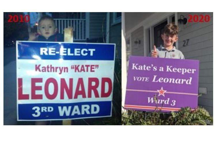 Vote Kate Leonard