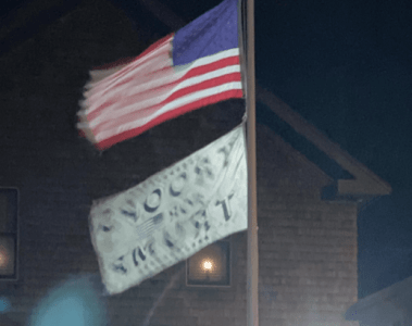General Michael Flynn Flag Stolen