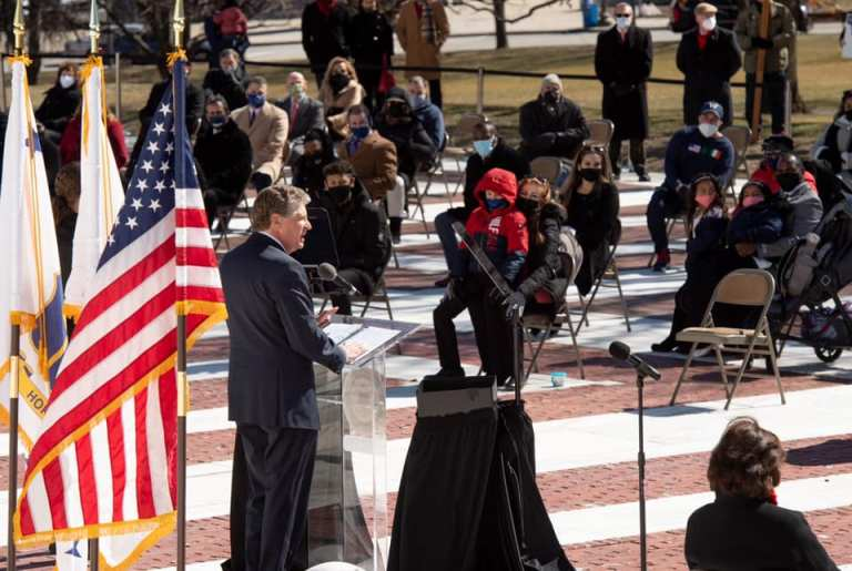 Governor Dan McKee Inauguration
