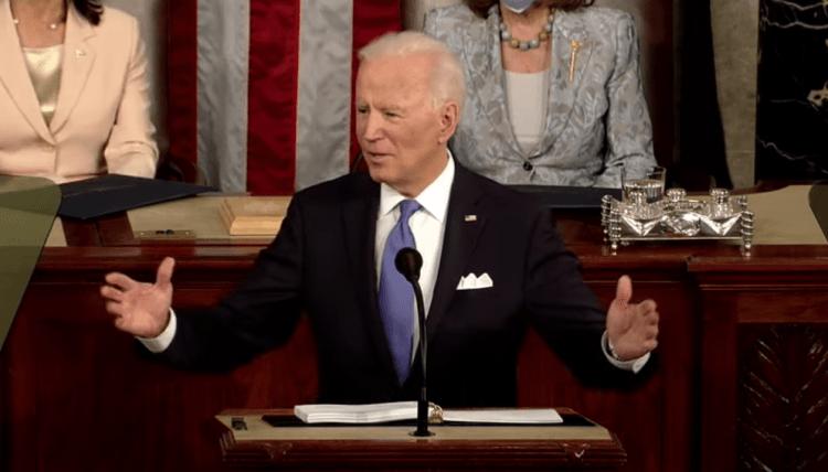 Biden's first address to congress