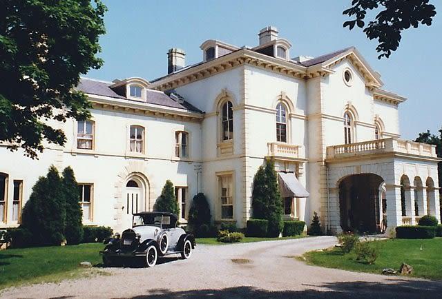 Larry Ellison Newport, RI Astor's Beechwood.