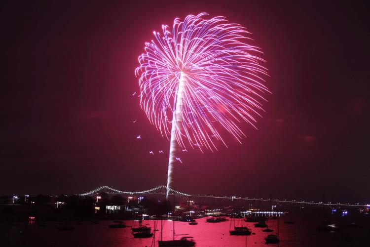 4th of July Fireworks Newport RI Christian Winthrop 1
