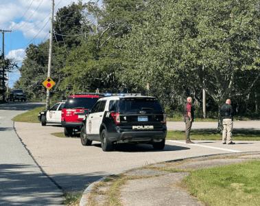 Rogers High School Lockdown Man with gun