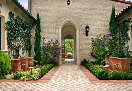 Courtyard Designs And Outdoor Living Spaces