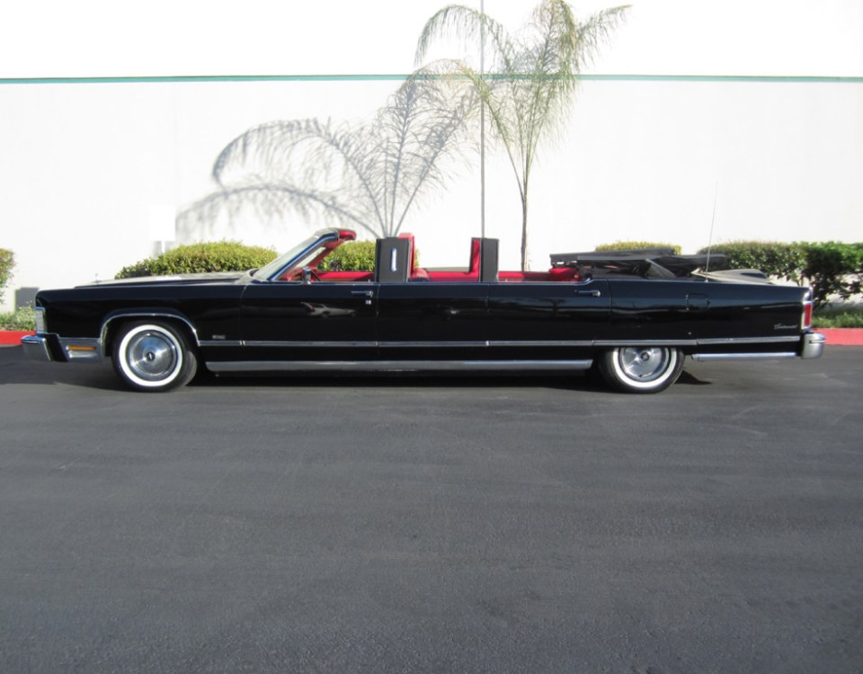 Lincoln Limo Convertible