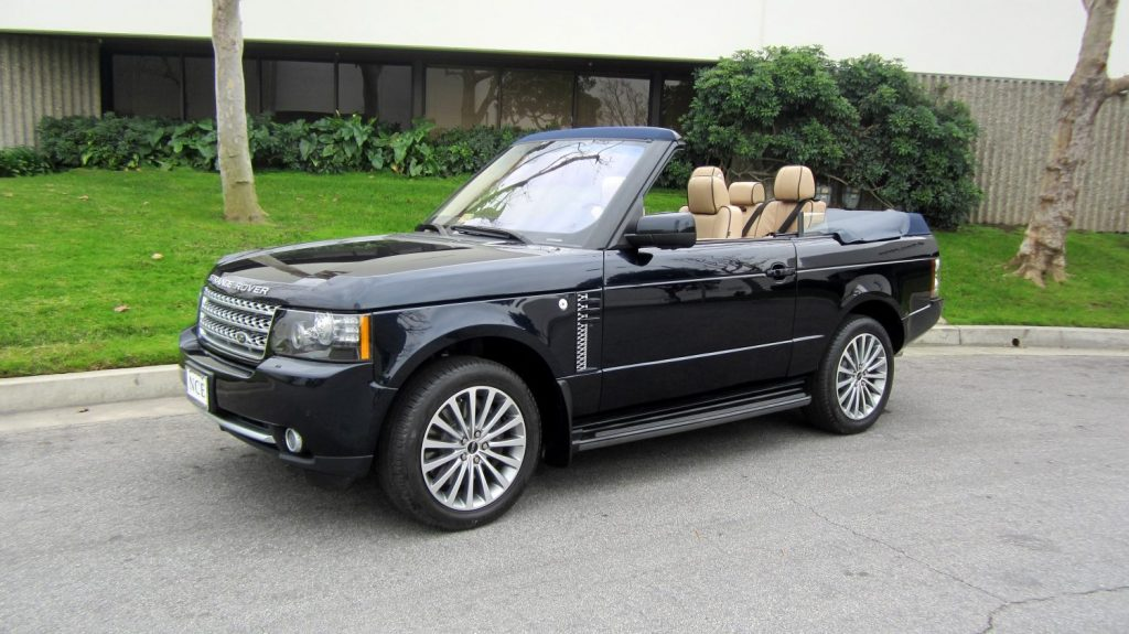 Range Rover 2 door convertible S