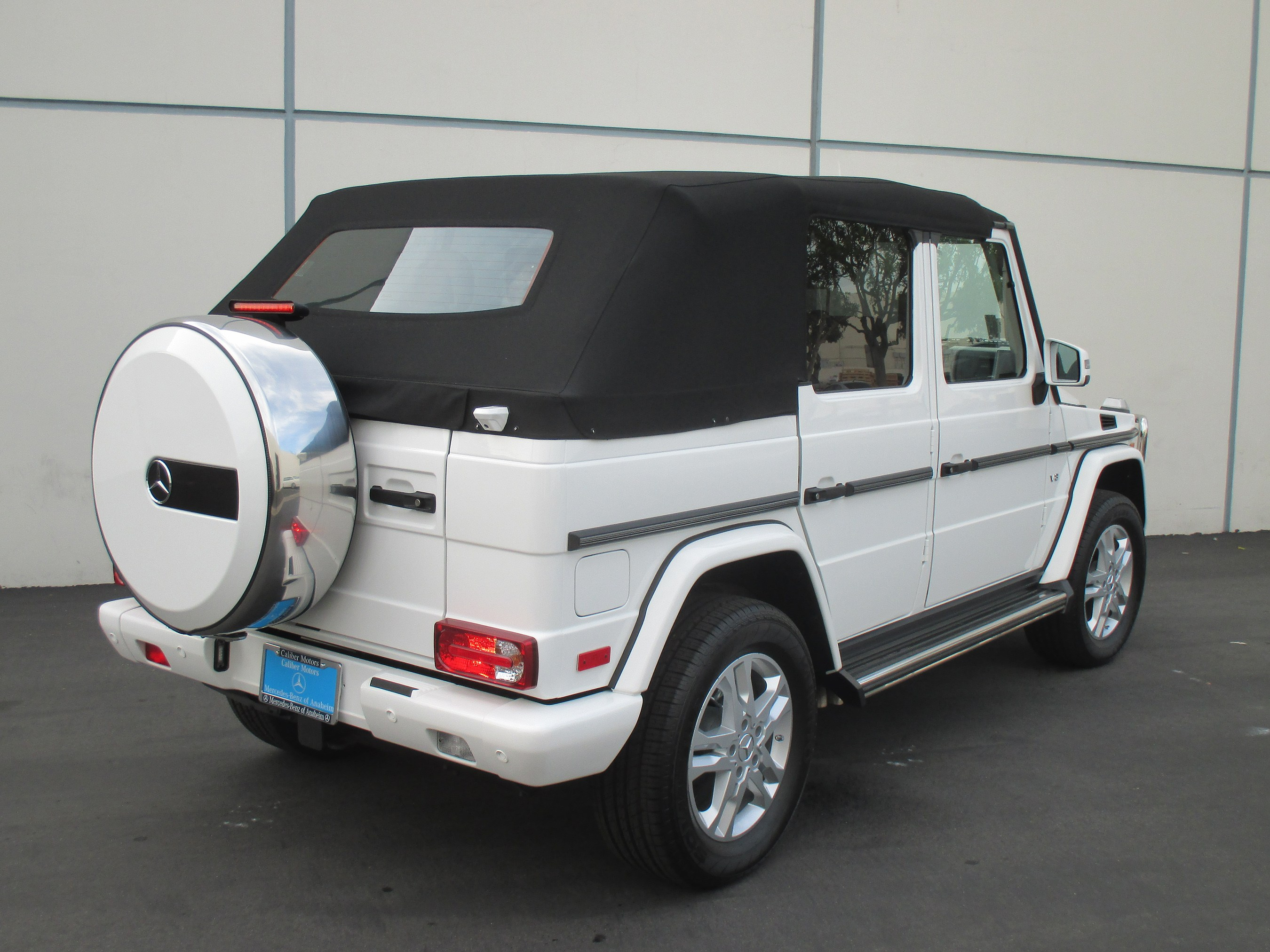 Mercedes g63 convertible for Mercedes benz g class cabriolet