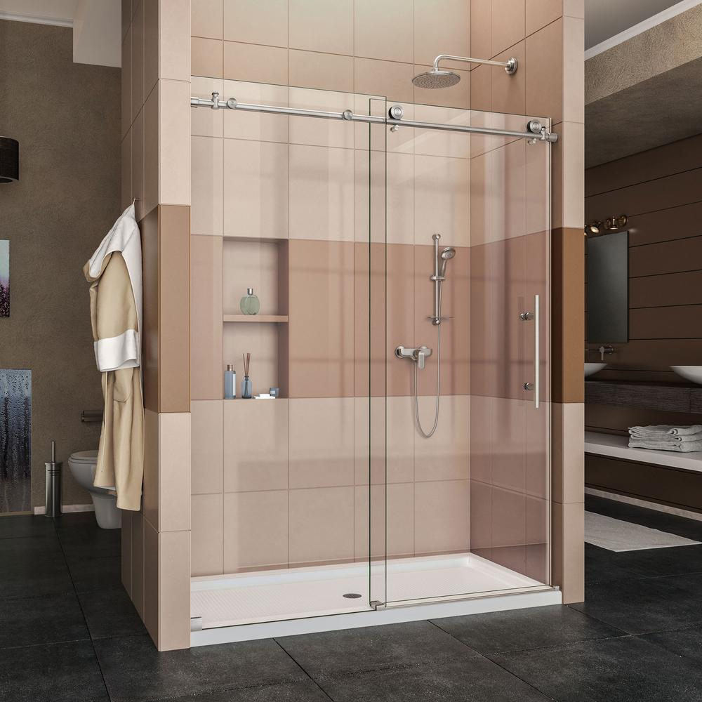 As you can see these doors can use a sliding mechanism or be hinged. Frameless models are the most recent to appear on the market and are considered the ... & Newport Glass - Shower Doors Commercial u0026 Residential Glass And ...