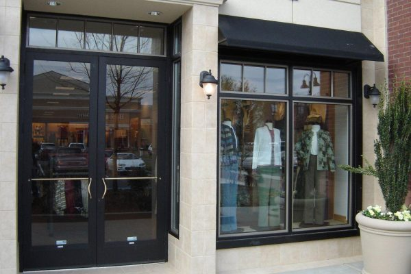 Commercial Storefront Windows : Newport glass shower doors commercial residential