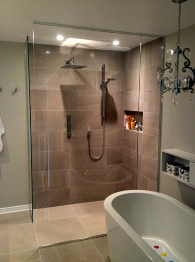 Frameless shower door rhode island