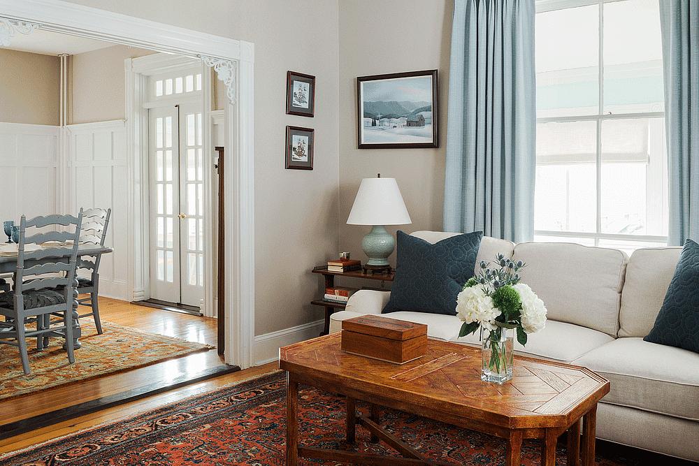 The Inn's Living Room | Newport Inns of Rhode Island