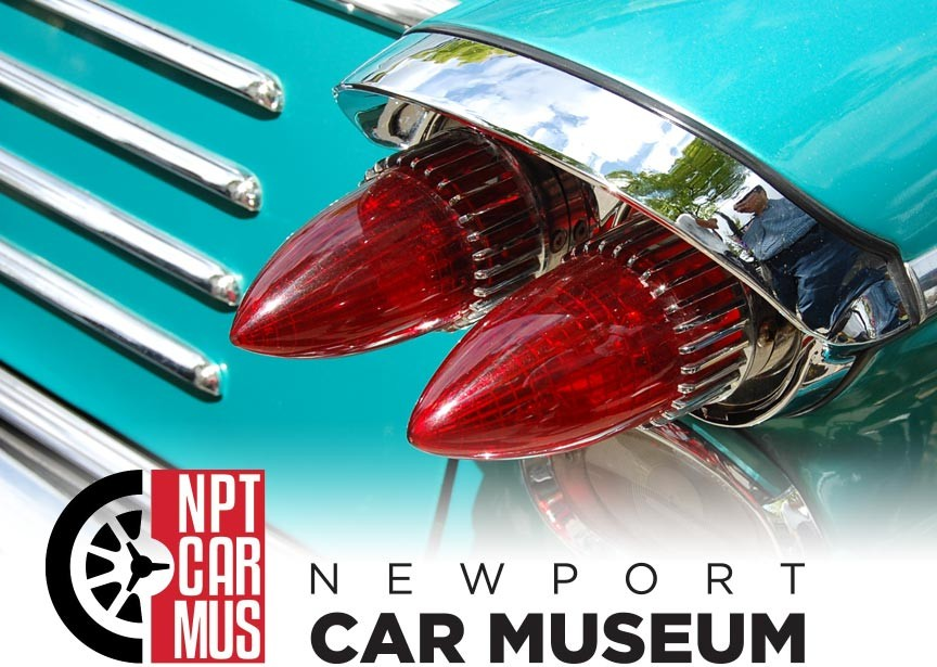 The Automobile as Art at the Newport Car Museum