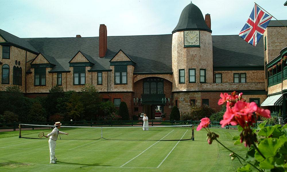 Newport Tennis Court   Newport Inns of Rhode Island