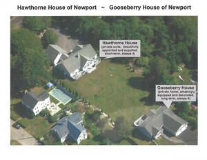 Arial Photo | Newport Inns of Rhode Island