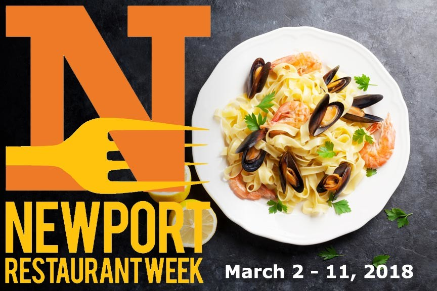 Don't Miss The Spring Session of Newport Restaurant Week 2018!
