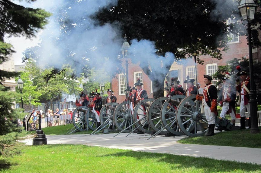 Step Back In Time With the Artillery Company of Newport