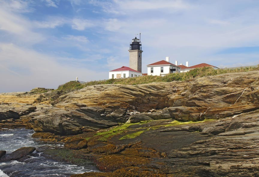 Beavertail Lighthouse – Third Oldest Lighthouse in the U.S.
