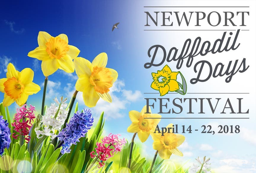 Spring in Newport – Time for Daffodil Days Festival 2018!