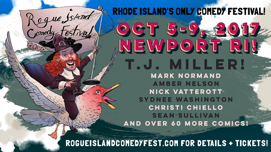 Get Set For Serious Fun At Rogue Island Comedy Festival 2017