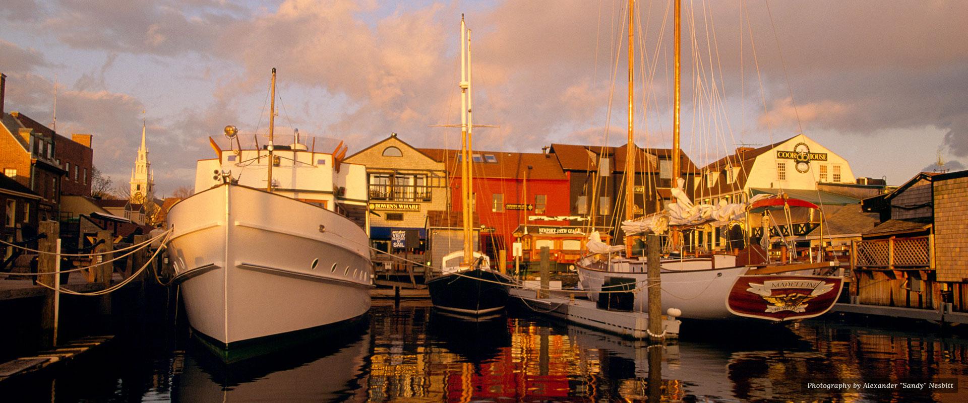Watefront | Newport Inns of Rhode Island