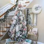 Our Blush White And Blue Christmas Tree Newport Lane