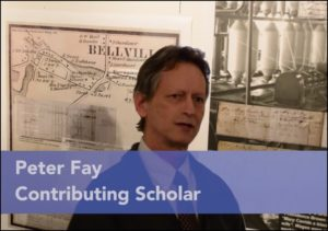 Contributing Scholar Peter Fay commentary on exhibit
