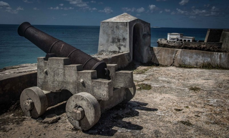 Fort of São Sebastião on the Island of Mozambique is the oldest complete fort still standing in sub-Saharan Africa.