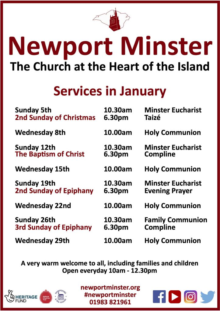 Services in January 2020