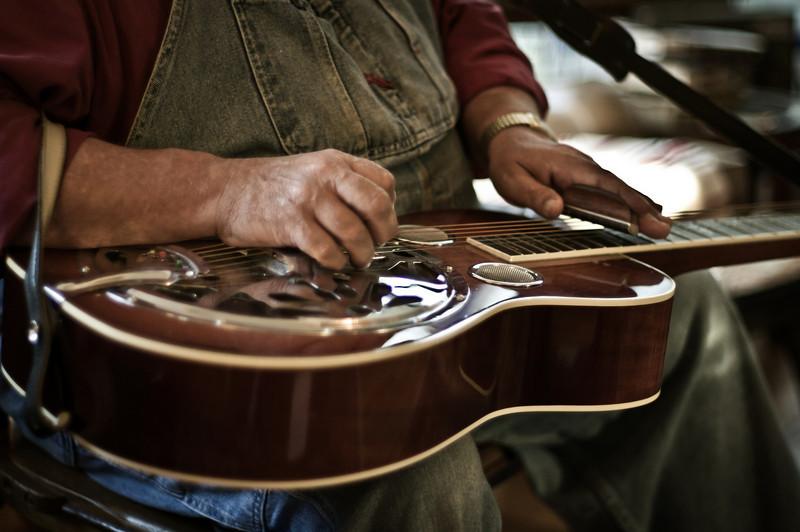 """Resonator guitar """"Dobro"""""""