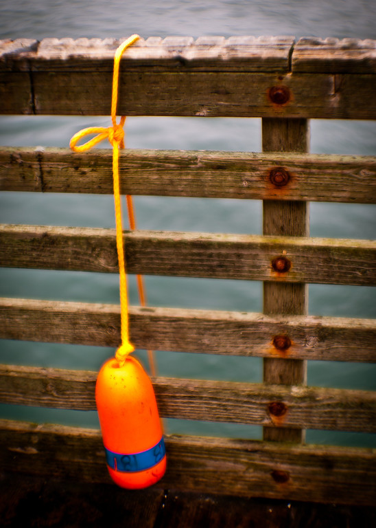 crab pot line buoy
