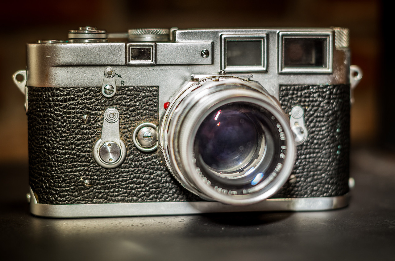 Leica M3, front view