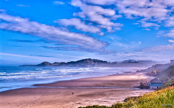 Yaquina Head in HDR