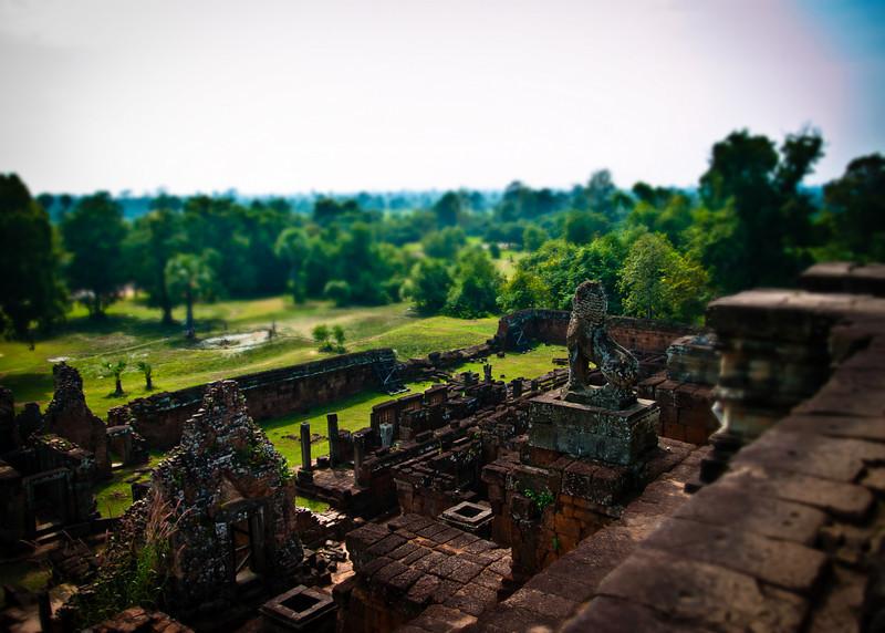 Angkor Temple Faux Tilt Shift