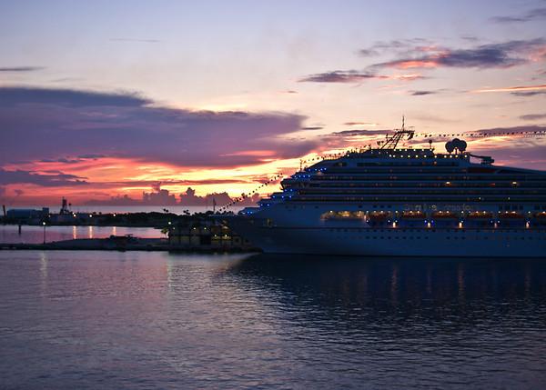 Sunrise at Port Everglades