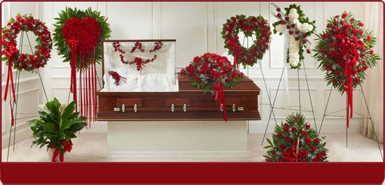Funeral Package Red